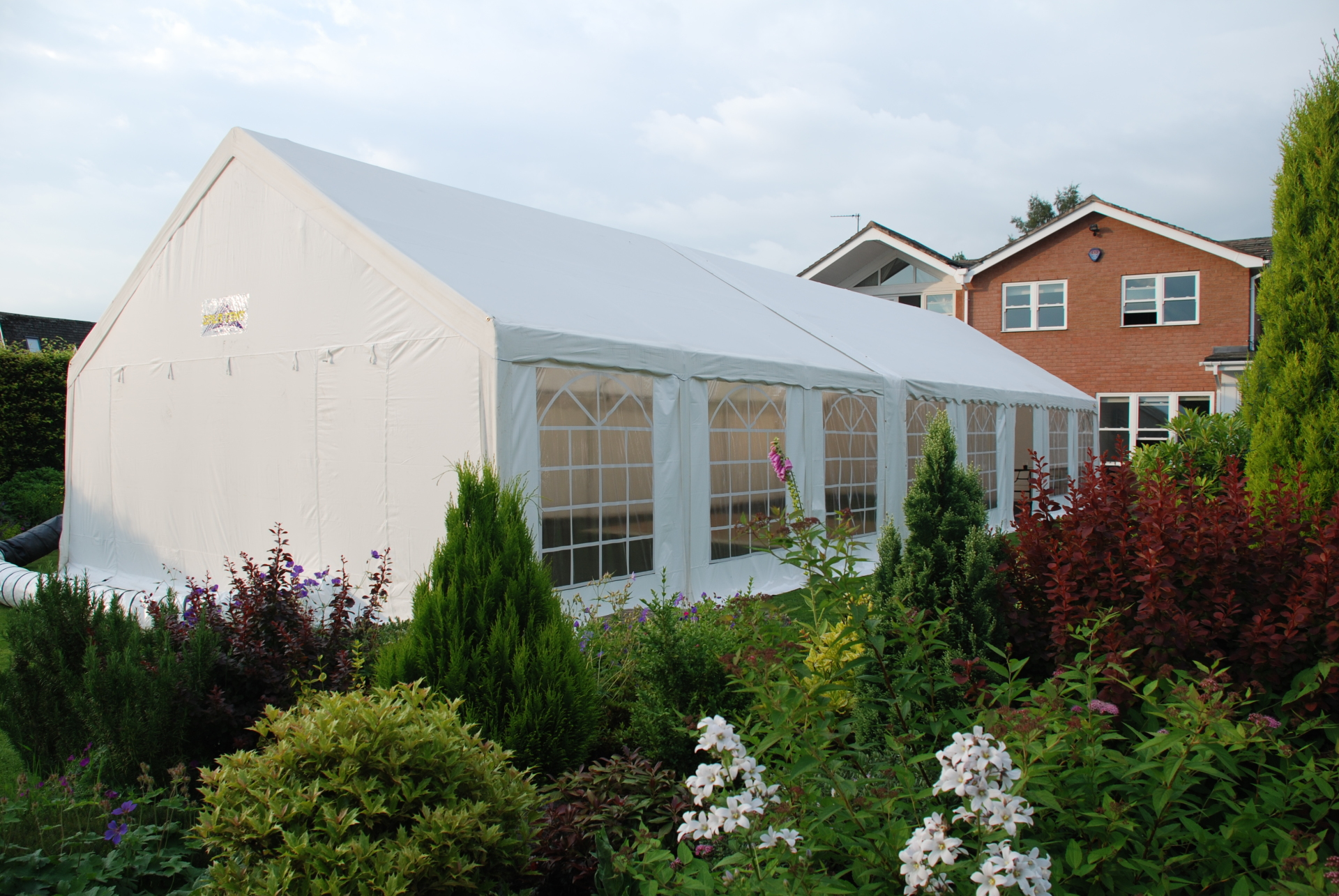 6m x 16m marquee