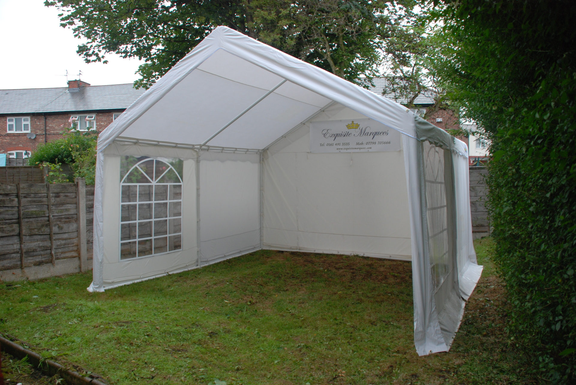 4m x 4m marquee